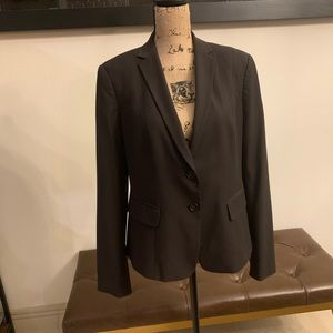 Ann Taylor Women's Brown Blazer - Size 12
